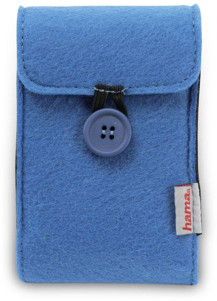 "Festplattentasche HAMA 95543, 2,5"", blau - Produktbild 1"