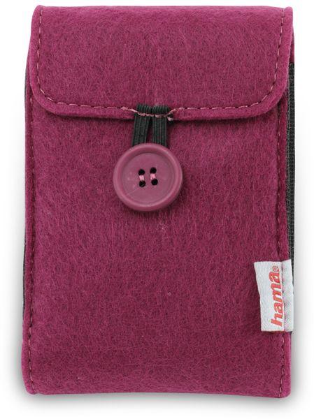 "Festplattentasche HAMA 95543, 2,5"", violett - Produktbild 1"