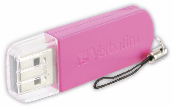 USB 2.0 Speicherstick VERBATIM Store 'n' Go 49830, Hot Pink, 8 GB
