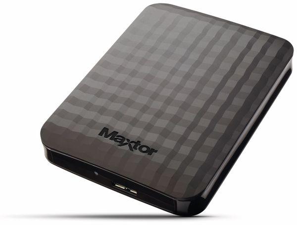 "USB 3.0 HDD MAXTOR M3 Station STSHX-M500TCBM, 500 GB, 6,35 cm (2,5"") - Produktbild 1"