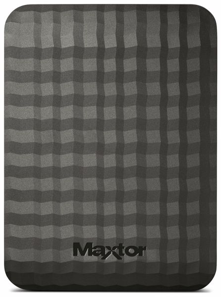 "USB 3.0 HDD MAXTOR M3 Station STSHX-M500TCBM, 500 GB, 6,35 cm (2,5"") - Produktbild 2"