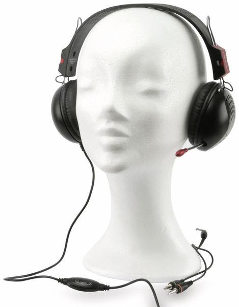 On-Ear Headset HAMA 53992 Perplex, schwarz - Produktbild 1
