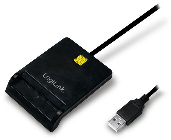 USB 2.0 Smart Kartenleser LogiLink, CR0037 - Produktbild 1