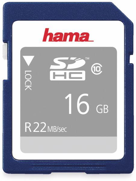SDHC Card HAMA 104367, 16 GB, Class 10