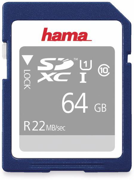 SDHC Card HAMA 104379, 64 GB, Class 10