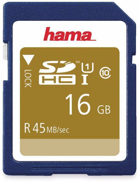 SDHC Card HAMA 114942, 16 GB, Class 10, UHS-I