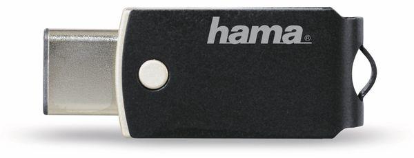 USB 3.1 Speicherstick HAMA C-Turn, 64 GB, USB Typ-C, 100 MB/s - Produktbild 3