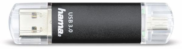 USB 3.0 Speicherstick HAMA Laeta Twin, 16 GB, 40 MB/s - Produktbild 2