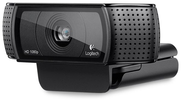 Webcam LOGITECH HD Pro C920, 1080p, 15 MP, USB - Produktbild 1