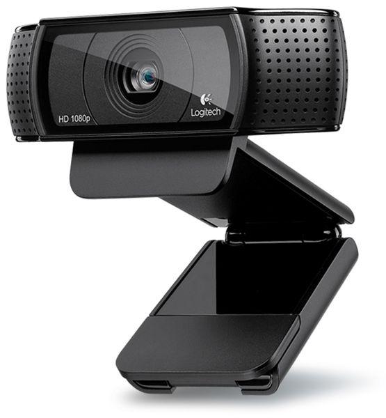 Webcam LOGITECH HD Pro C920, 1080p, 15 MP, USB - Produktbild 2