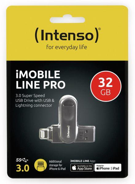 USB 3.0 Speicherstick INTENSO iMoblie Line Pro 32 GB, Lightning - Produktbild 2