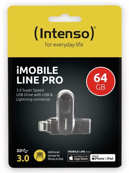 USB 3.0 Speicherstick INTENSO iMoblie Line Pro 64 GB, Lightning - Produktbild 2