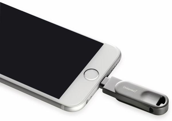 USB 3.0 Speicherstick INTENSO iMoblie Line Pro 64 GB, Lightning - Produktbild 5