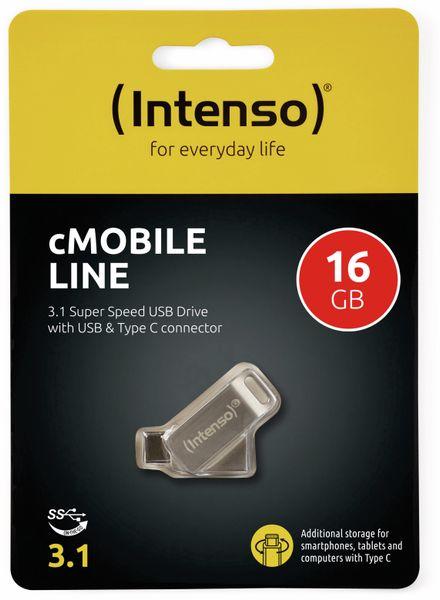 USB 3.0 Speicherstick INTENSO cMobile Line, USB Typ-C, 16 GB - Produktbild 2