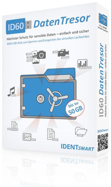 DatenTresor IDENTOS ID60, 50 GB, Windows - Produktbild 2