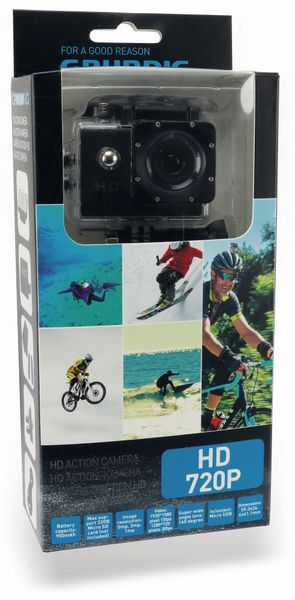 Action-Kamera GRUNDIG, 720P - Produktbild 6