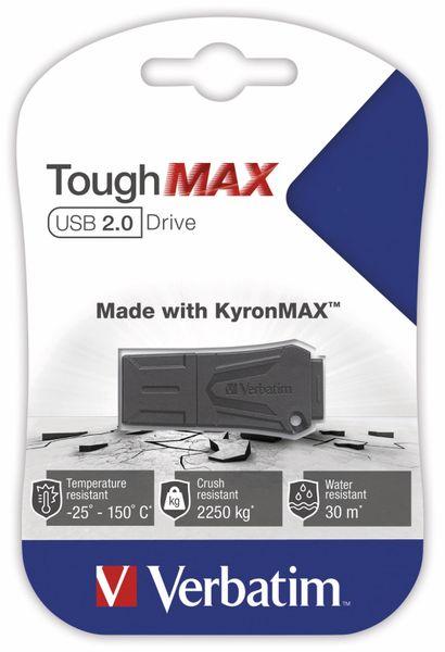 USB 2.0 Speicherstick VERBATIM ToughMAX, 64 GB - Produktbild 4
