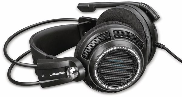 Gaming-Headset HAMA uRage SoundZ 7.1, schwarz - Produktbild 2