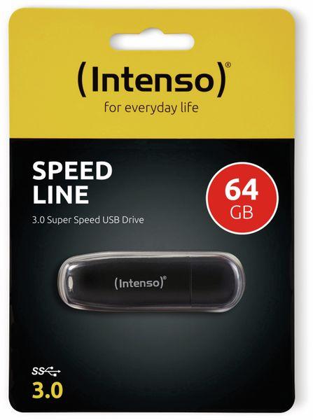 USB 3.0 Speicherstick INTENSO Speed Line, 64 GB - Produktbild 2