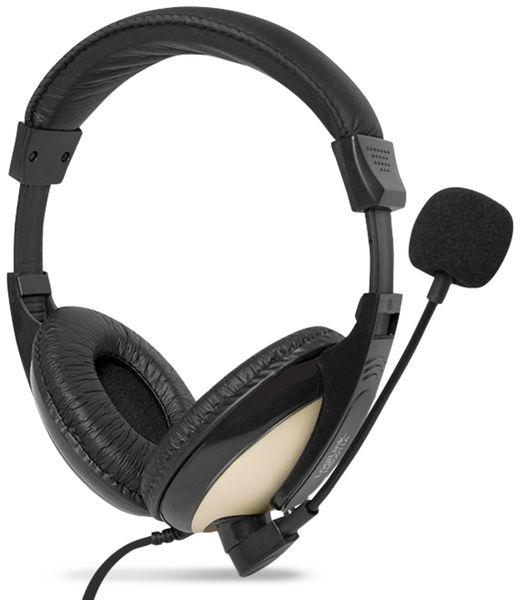 Headset LOGILINK HS0011A, 3,5 mm Klinkenstecker - Produktbild 3