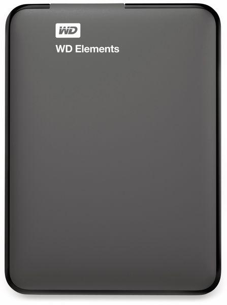 """USB3.0 HDD WESTERN DIGITAL Elements Portable, 1 TB, 2,5"""", schwarz - Produktbild 2"""