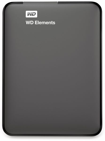 "USB3.0 HDD WESTERN DIGITAL Elements Portable, 4 TB, 2,5"", schwarz - Produktbild 2"