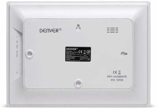 "Digitaler Bilderrahmen DENVER PFF-1010, 25,4 cm (10""), weiß - Produktbild 4"