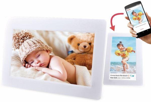 "Digitaler Bilderrahmen DENVER PFF-1010, 25,4 cm (10""), weiß - Produktbild 5"