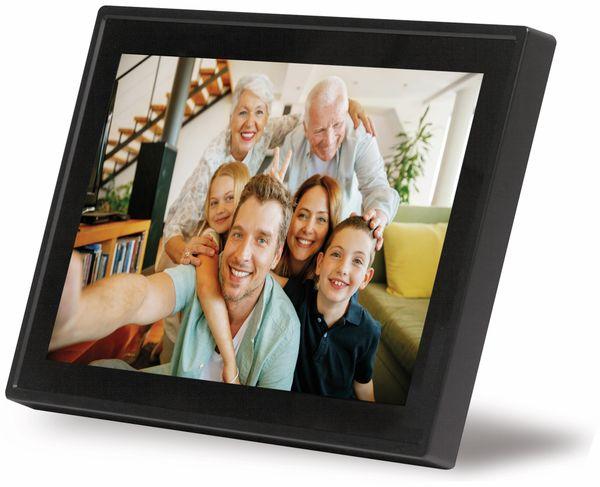 "Digitaler Bilderrahmen DENVER PFF-1011, 25,4 cm (10""), schwarz - Produktbild 1"