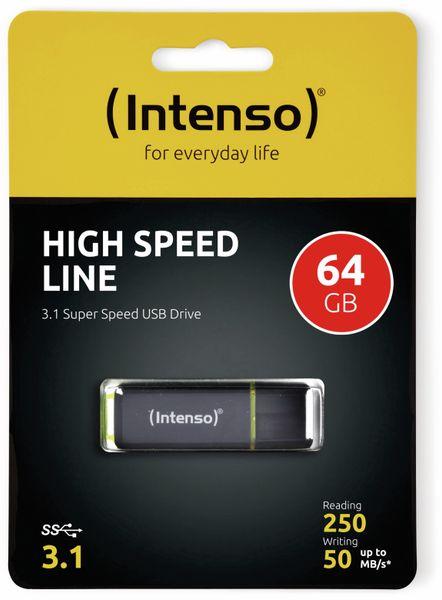USB 3.1 Speicherstick INTENSO High Speed Line, 64 GB - Produktbild 2