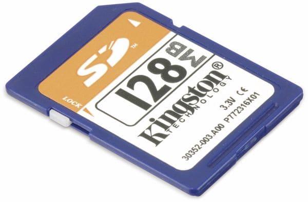 SD-Speicherkarte KINGSTON, 128 MB - Produktbild 3