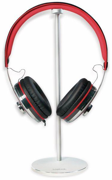 Kopfhörer-Halter LOGILINK AA0105, Aluminium - Produktbild 3
