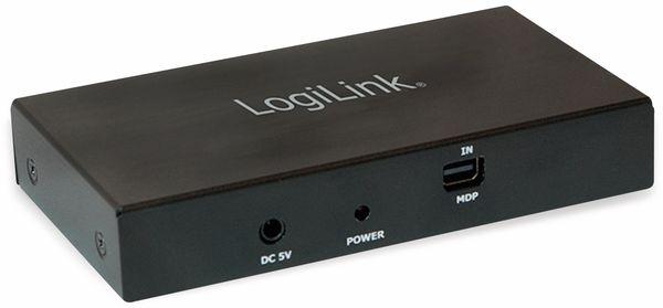 DisplayPort-Splitter LOGILINK CV0094, 4K, 2x HDMI