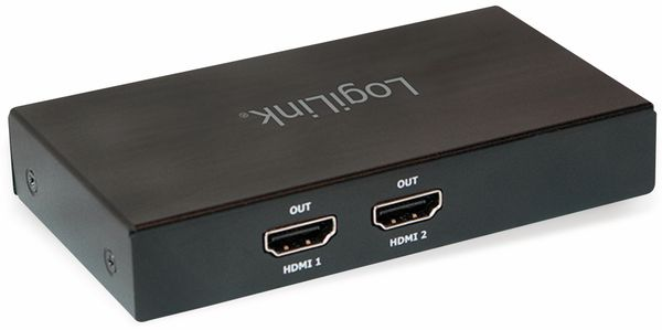 DisplayPort-Splitter LOGILINK CV0094, 4K, 2x HDMI - Produktbild 2