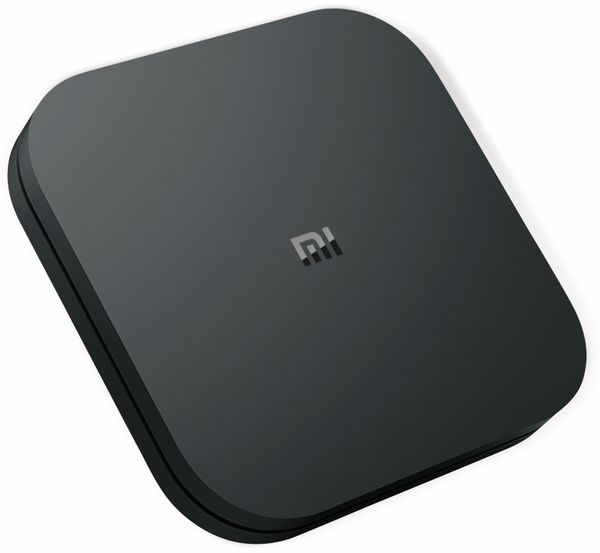Mediaplayer XIAOMI Mi Box S, EU-Version, schwarz - Produktbild 1