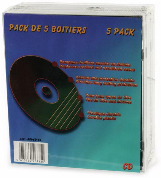 CD-Leerhüllen LTC, 5er Pack
