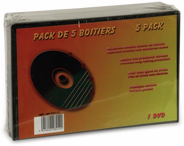 DVD-Leerhüllen LTC, 5er Pack