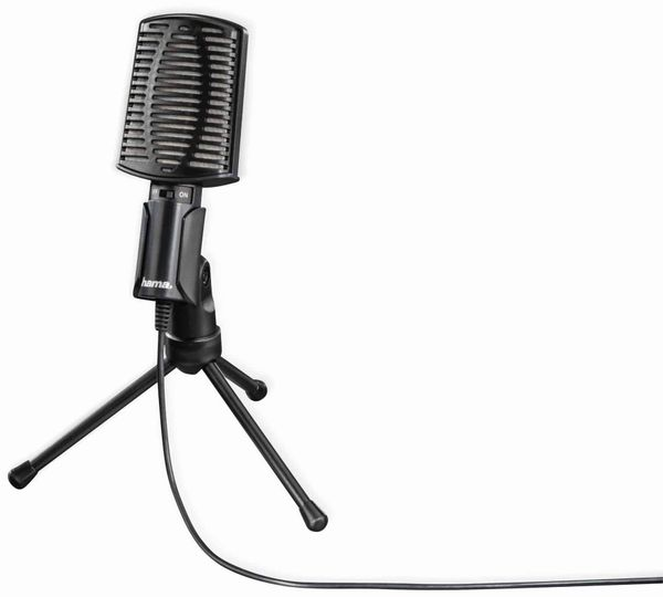 Mikrofon HAMA MIC-USB Allround, Dreibeinstativ