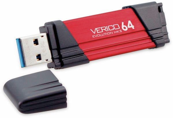USB3.0 Stick VERICO Evolution MK-II, 64 GB, rot