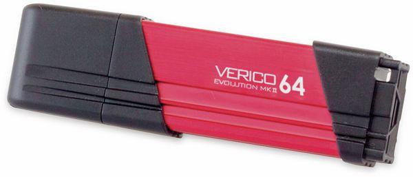 USB3.0 Stick VERICO Evolution MK-II, 64 GB, rot - Produktbild 3