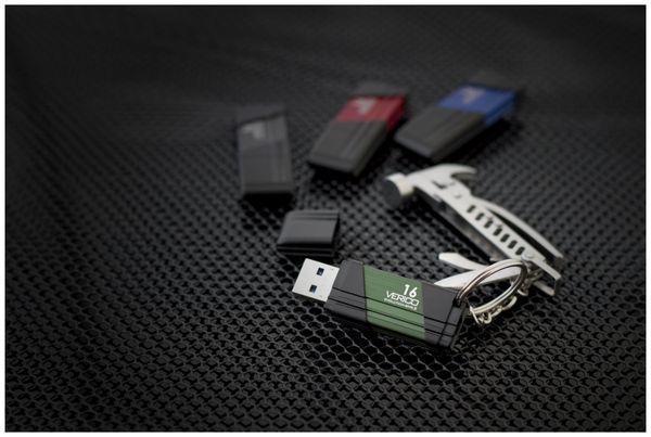 USB3.0 Stick VERICO Evolution MK-II, 64 GB, rot - Produktbild 8