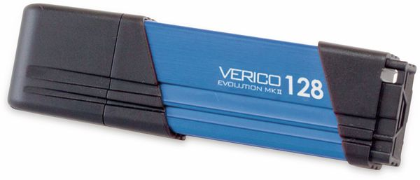 USB3.0 Stick VERICO Evolution MK-II, 128 GB, blau - Produktbild 3
