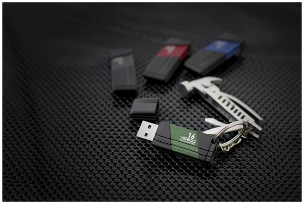 USB3.0 Stick VERICO Evolution MK-II, 128 GB, blau - Produktbild 8