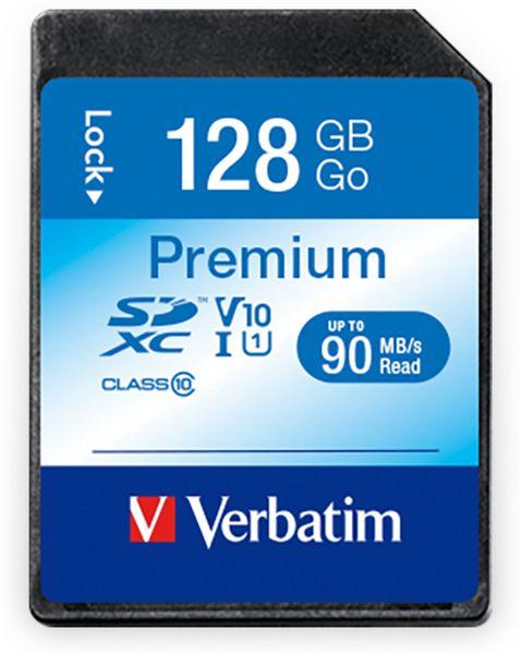 SDXC Card VERBATIM Premium, 128 GB, Class 10