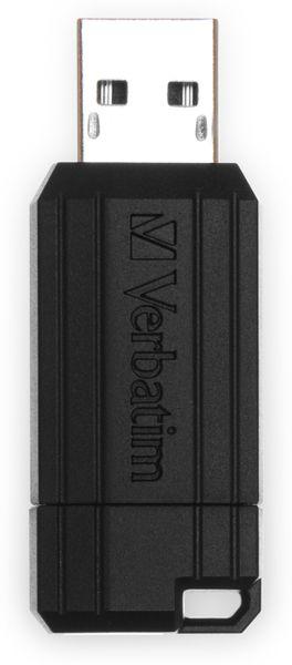 USB-Speicherstick VERBATIM PinStripe, 128GB