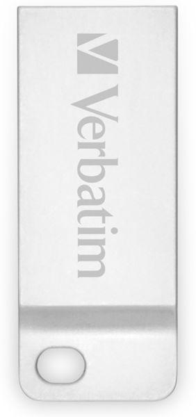 USB2.0 Stick VERBATIM Metal Executive, 64 GB