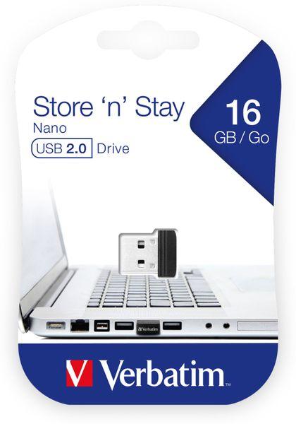 USB2.0 Stick VERBATIM Nano Store´n´Stay, 16 GB - Produktbild 2