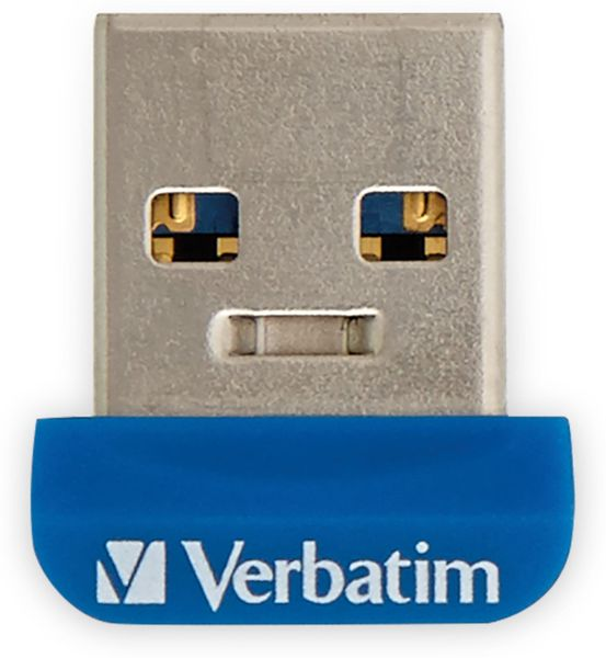 USB3.0 Stick VERBATIM Nano Store´n´Stay, 64 GB