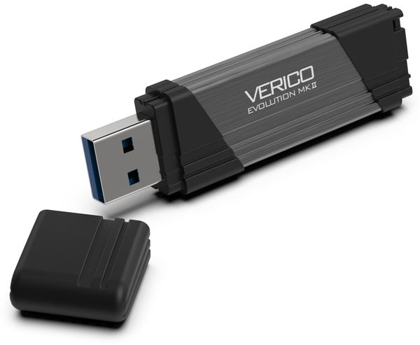 USB3.0 Stick VERICO Evolution MK-II, 256 GB, grau