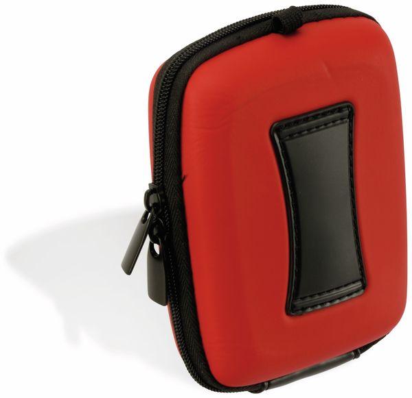 Kameratasche, CARAT, HC20EVA, Hardcase rot - Produktbild 2
